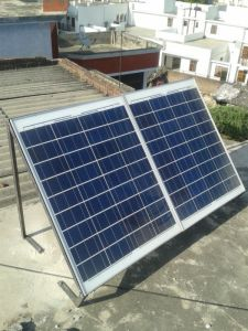 Solar Panels nstalled on My Rooftop