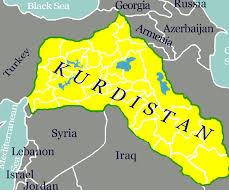 Kurdstan map