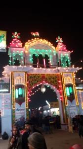An Illuminated Gate