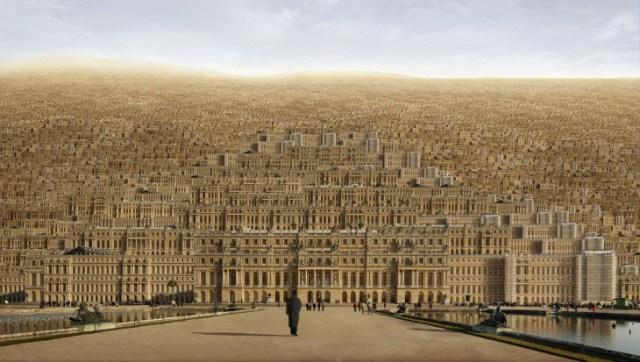 """""""Versailles,"""" by Jean-Francois Rauzier. (http://www.waterhousedodd.com)"""