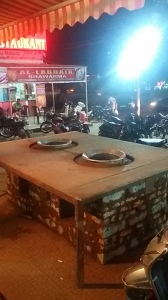 Prepration for Haleem in Ramadan at Al Saba Restaurant iat Hyderabad