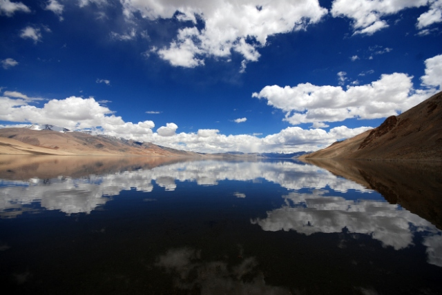 Ladakh's beautiful mountains might be a paradise for tourists, but ask the locals who struggle to meet their basic water needs every year. PHOTO: Wikimedia Commons