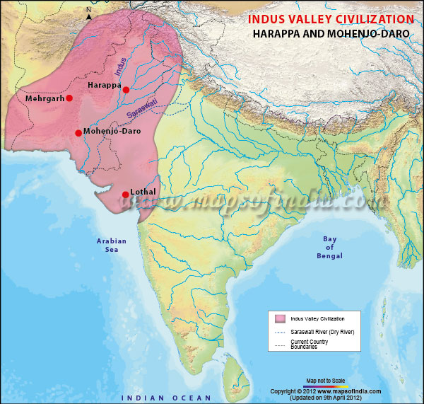 indus-valley-civilization-map