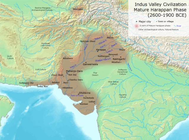 indus-valley-sites-evidences